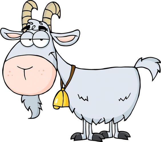 Cute goat cartoon  Stock Vector  irwanjos2 68621775