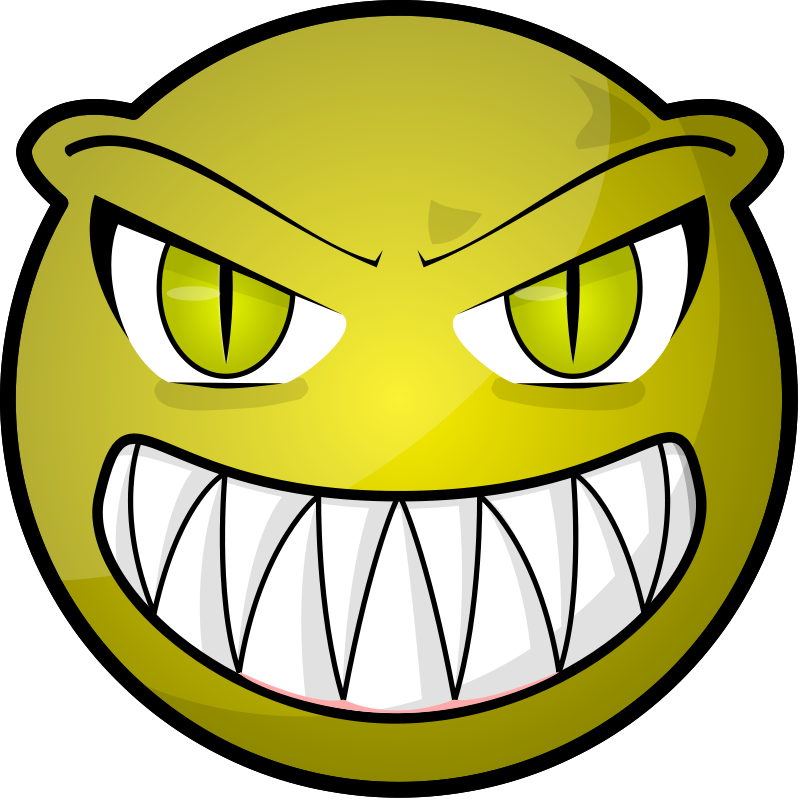 Scared clipart face