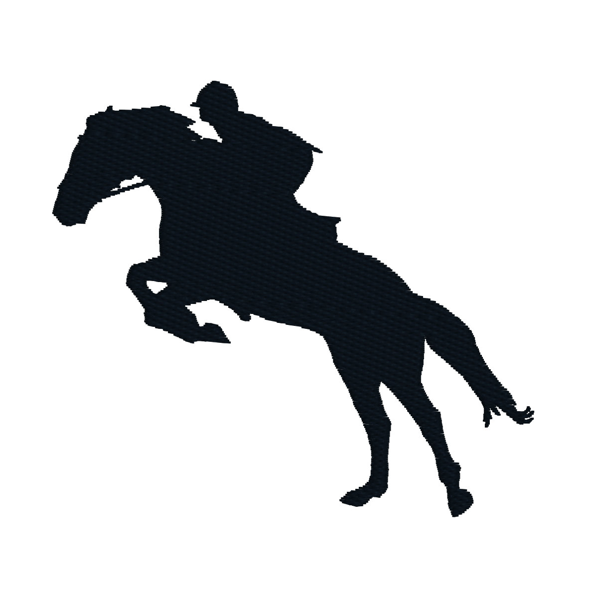Horse Jumping Silhouette - ClipArt Best