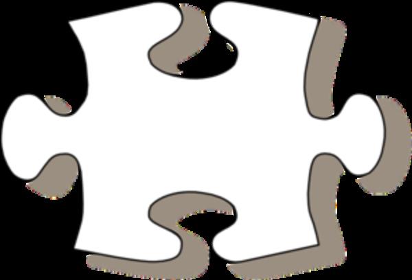 Large Printable Puzzle Pieces - ClipArt Best
