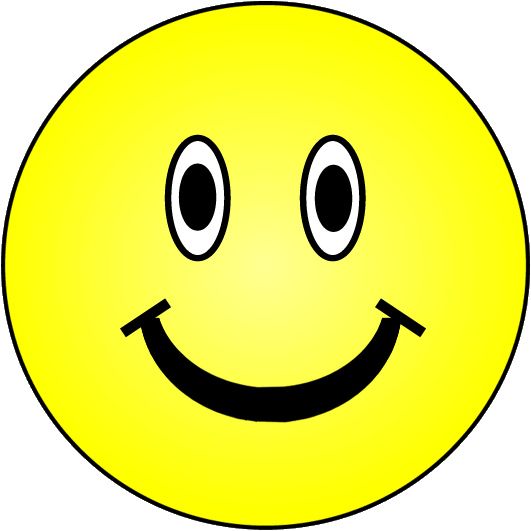 Happy faces clip art