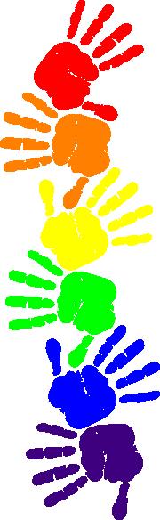 Clip Art Handprint Clipart handprint clipart free best kid clipart