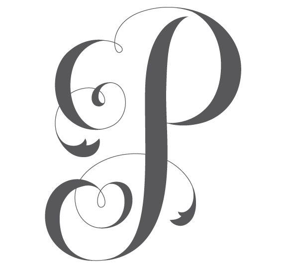 cool letter designs p clipart best