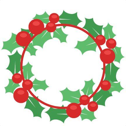 Free Christmas Wreath Clip Art - ClipArt Best