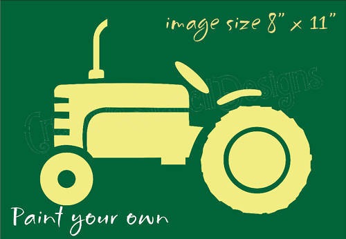 Tractor stencil printable clipart best