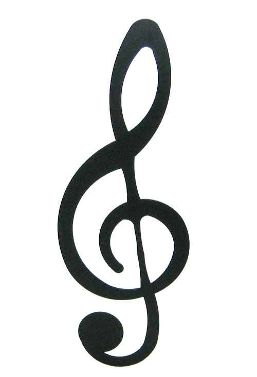 Treble Clef Peace Sign Tattoo | Free Download Clip Art | Free Clip ...