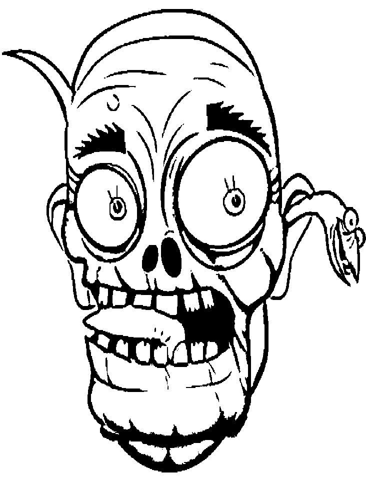 Zombie Clipart Black And White - ClipArt Best