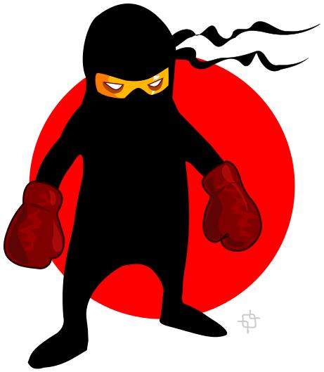 cartoon ninja clip art - photo #19
