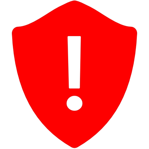 Red Warning - ClipArt Best