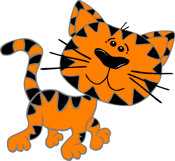 Free Clipart Cat Outline