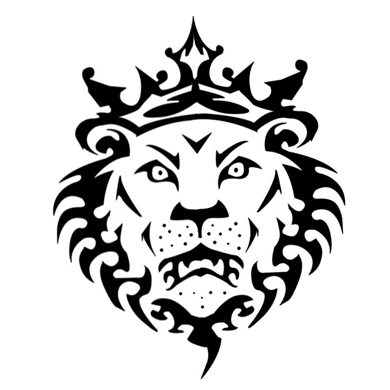 Line Art Lion : Line drawing lion clipart best