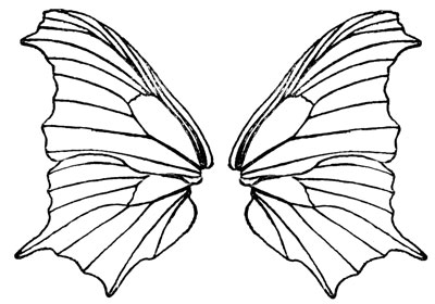 31 butterfly wings clip art . Free cliparts that you can download to ...