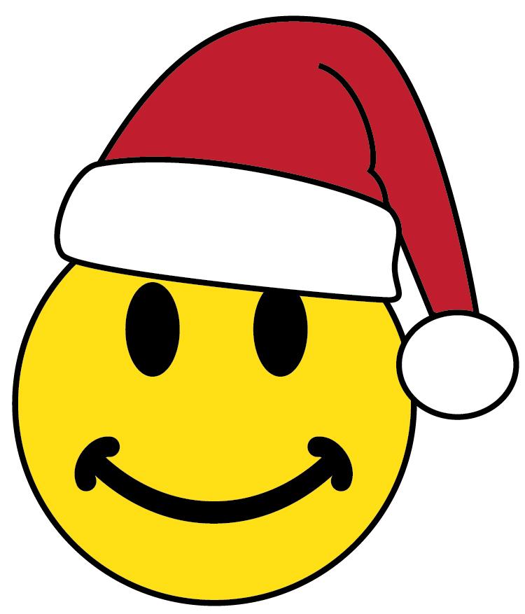 clip art christmas smiley face - photo #3