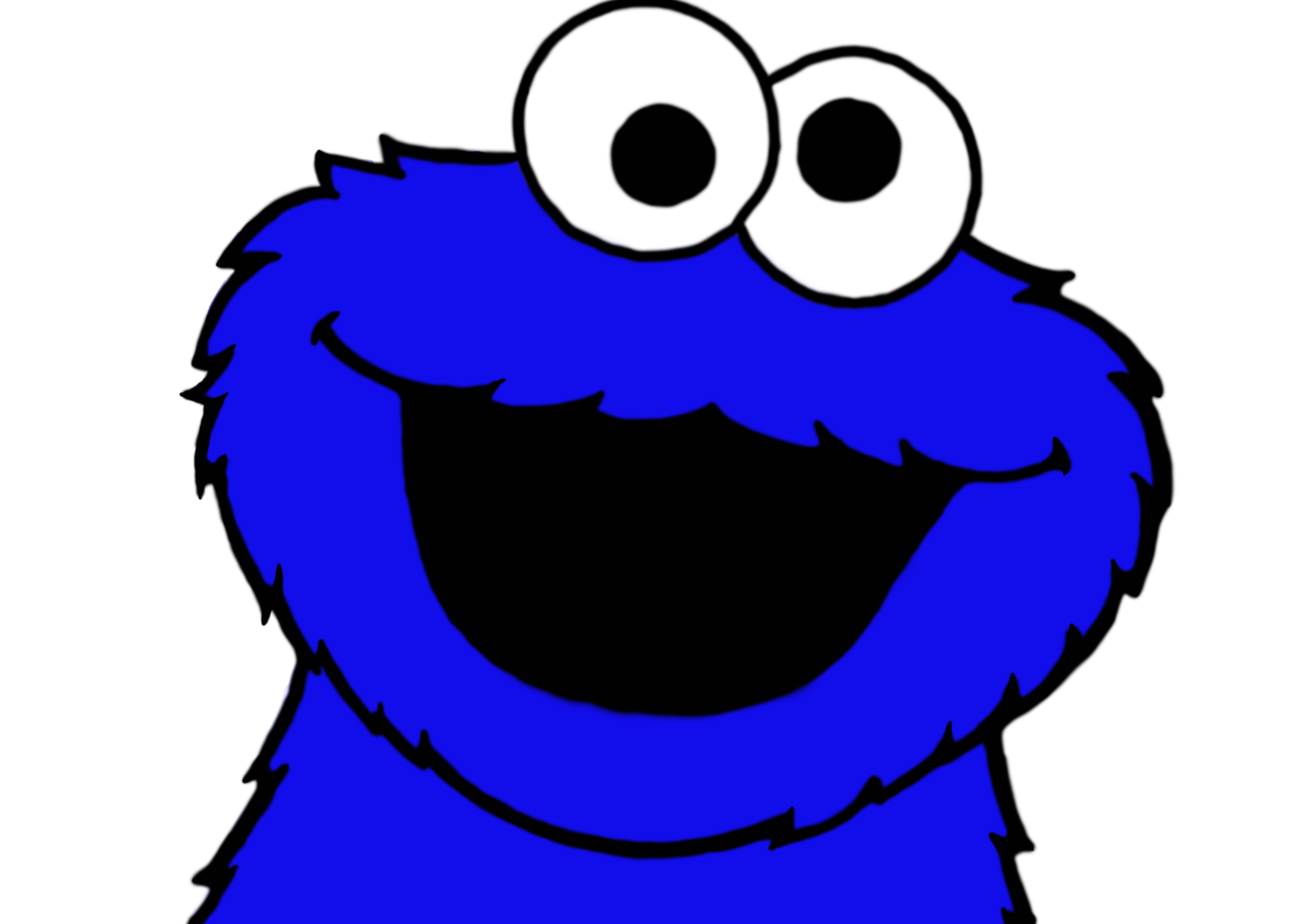 Elmo And Cookie Monster Cartoon Baby
