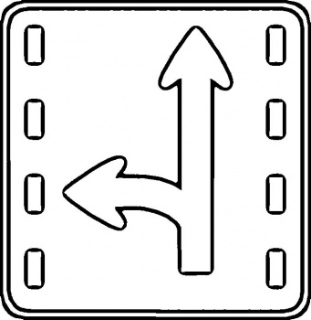 Traffic Sign Coloring Pages - GetColoringPages.com | 350x341