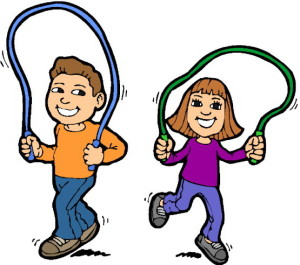 kids jump rope clipart best team roping clipart free Team Roping Drawings
