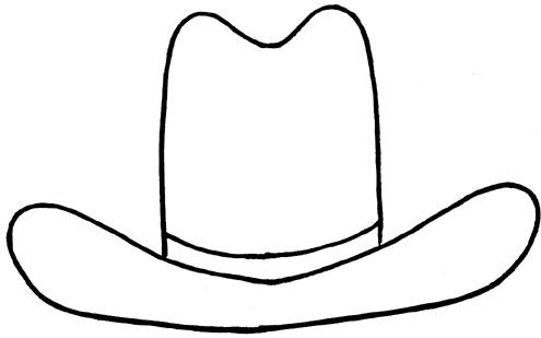 Gallery For gt Hat Outline