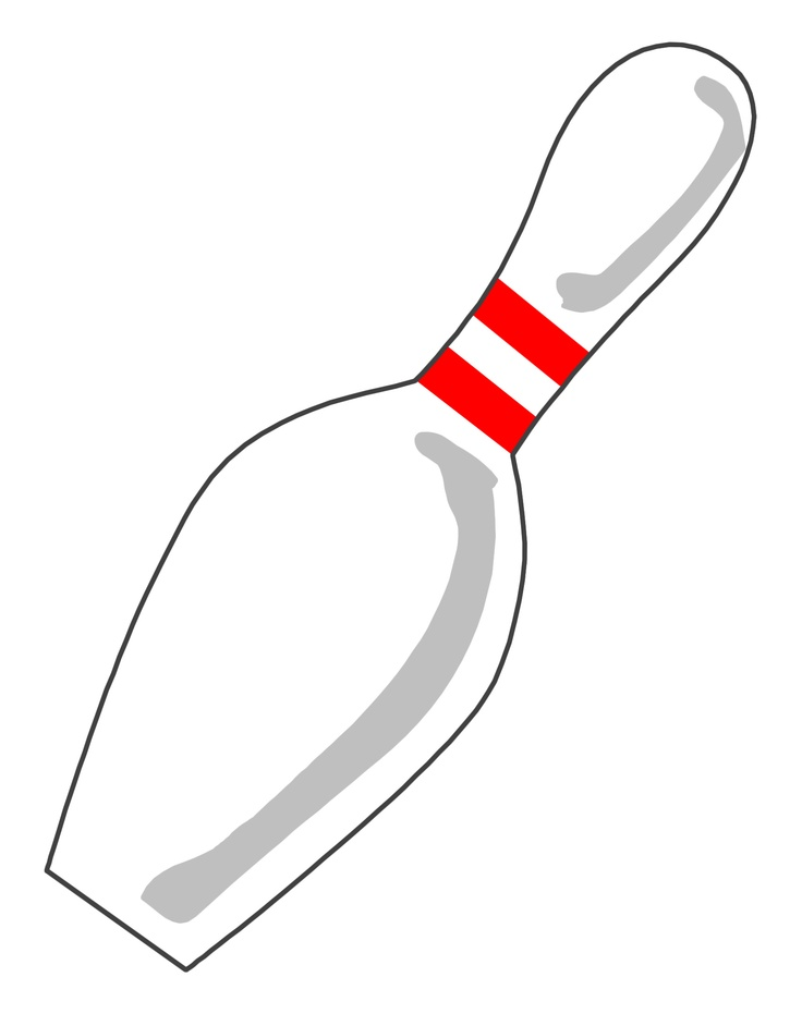 Can't find the perfect clip-art?: www.clipartbest.com/printable-bowling-pin-template