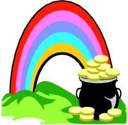 ... Rainbow Pot of Gold Graphic Craft ... - ClipArt Best - ClipArt Best