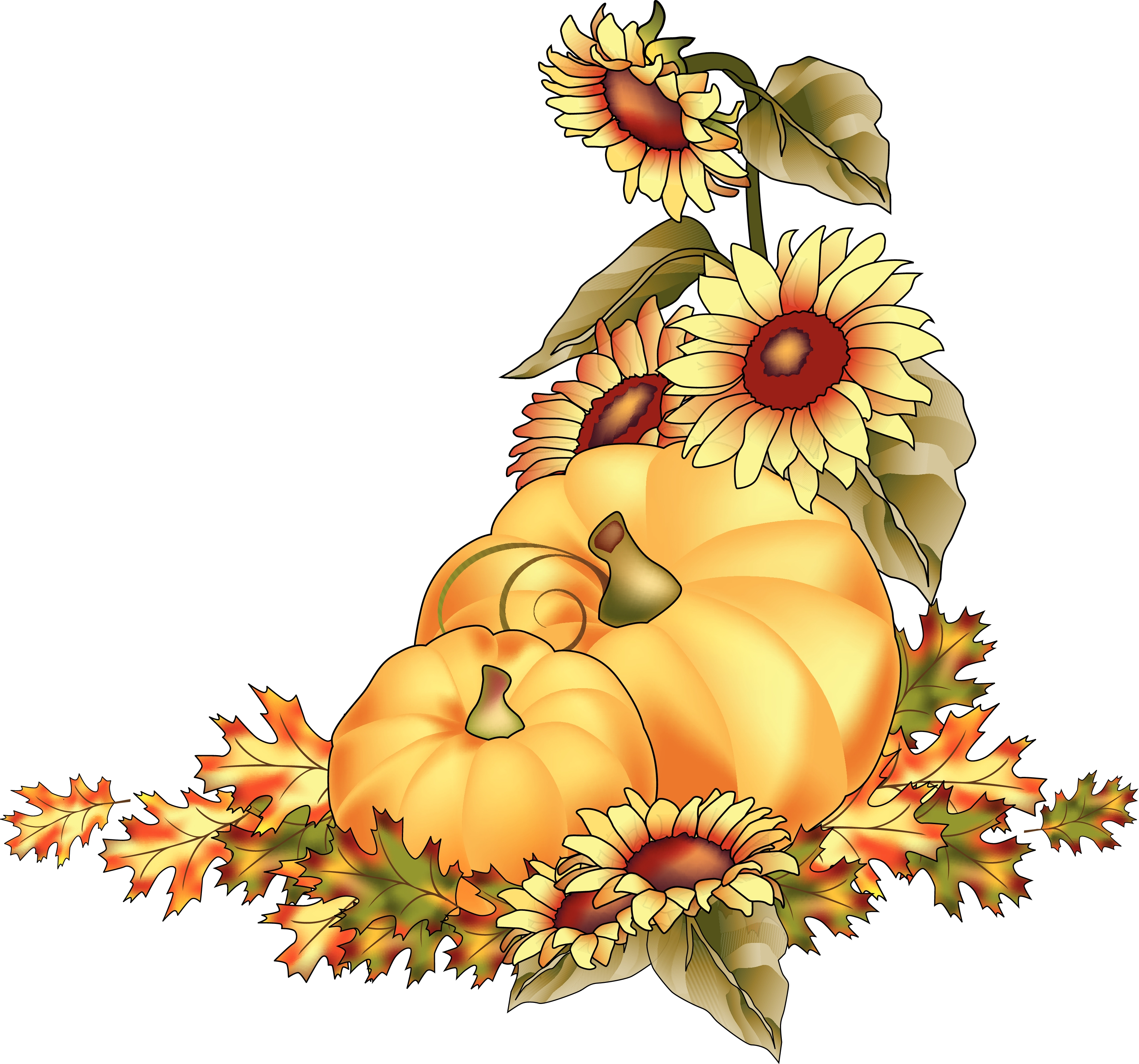 Harvest Clipart Pumpkins-at-harvest- - ClipArt Best - ClipArt Best