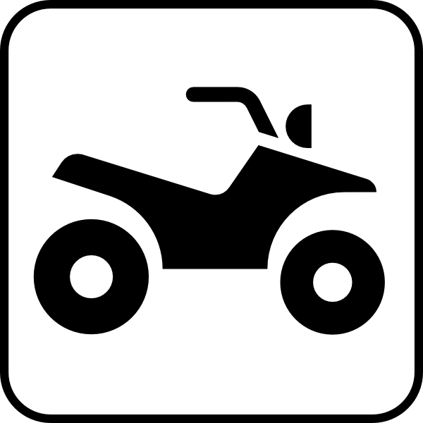 Four Wheeler Clip Art : How to draw a four wheeler step by clipart best
