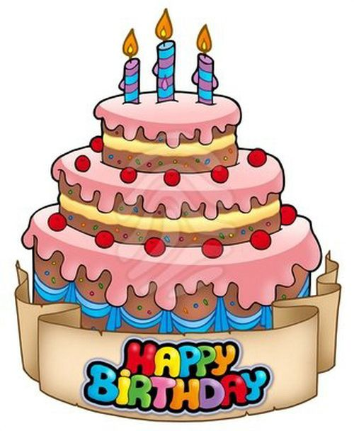 Cartoon Birthday Cake Images Download : Animated Birthday Cake Clip Art - Happy Birthday Cake ...