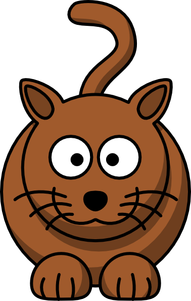 Cute Cartoon Cat Face - ClipArt Best