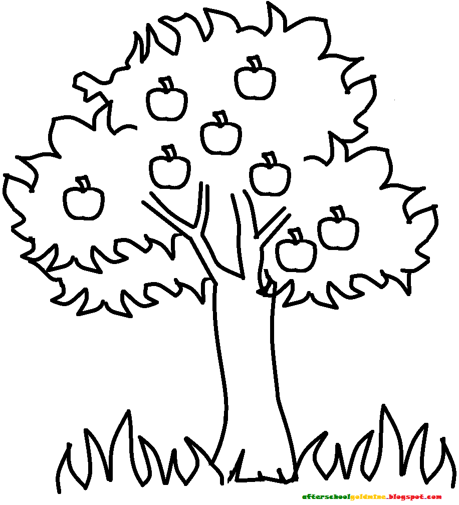 trees and indian coloring pages - photo#14