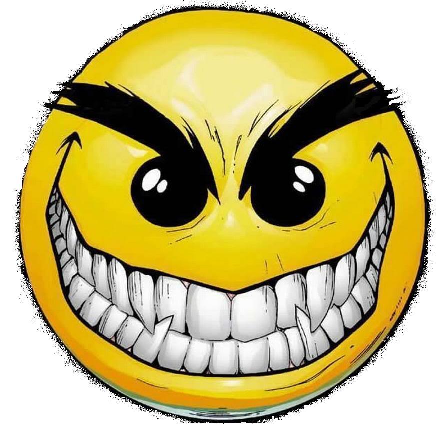 Mean Smiley Faces - ClipArt Best
