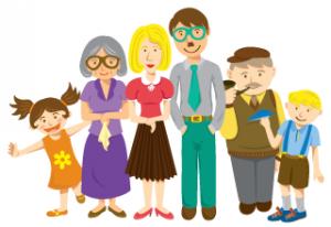 Happy Family Cartoon - ClipArt Best