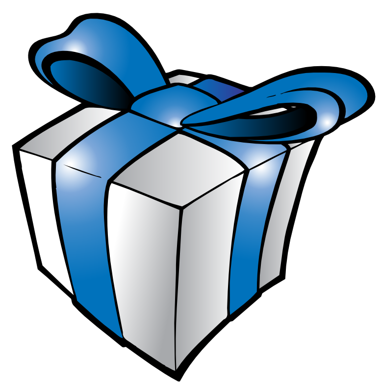 BIRTHDAY GIFTS CLIP ART
