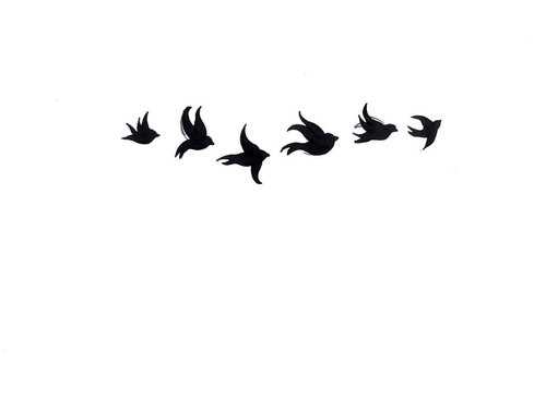 Bird Silhouette Stock Images RoyaltyFree Images