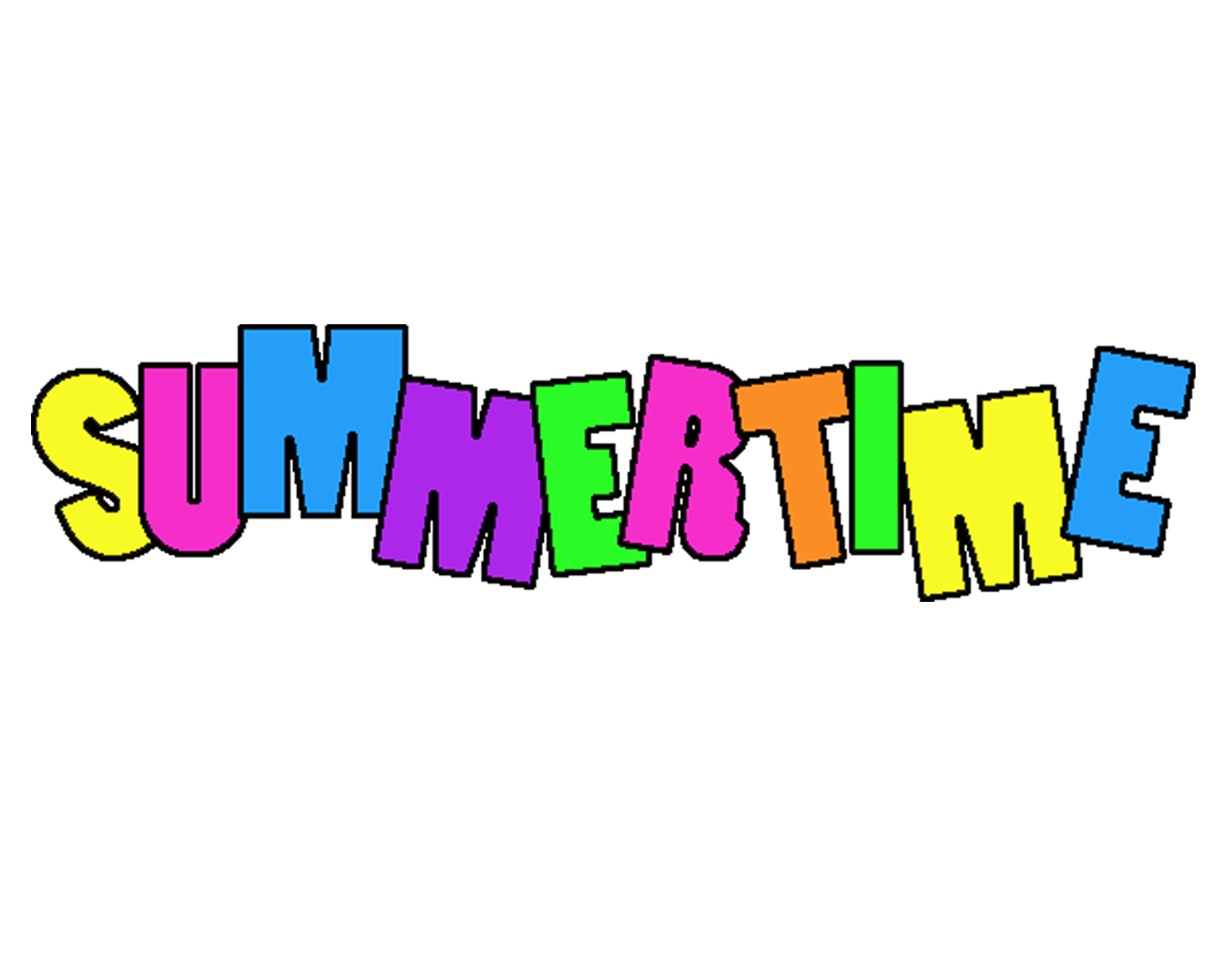 Summertime Clipart - Free Clipart Images