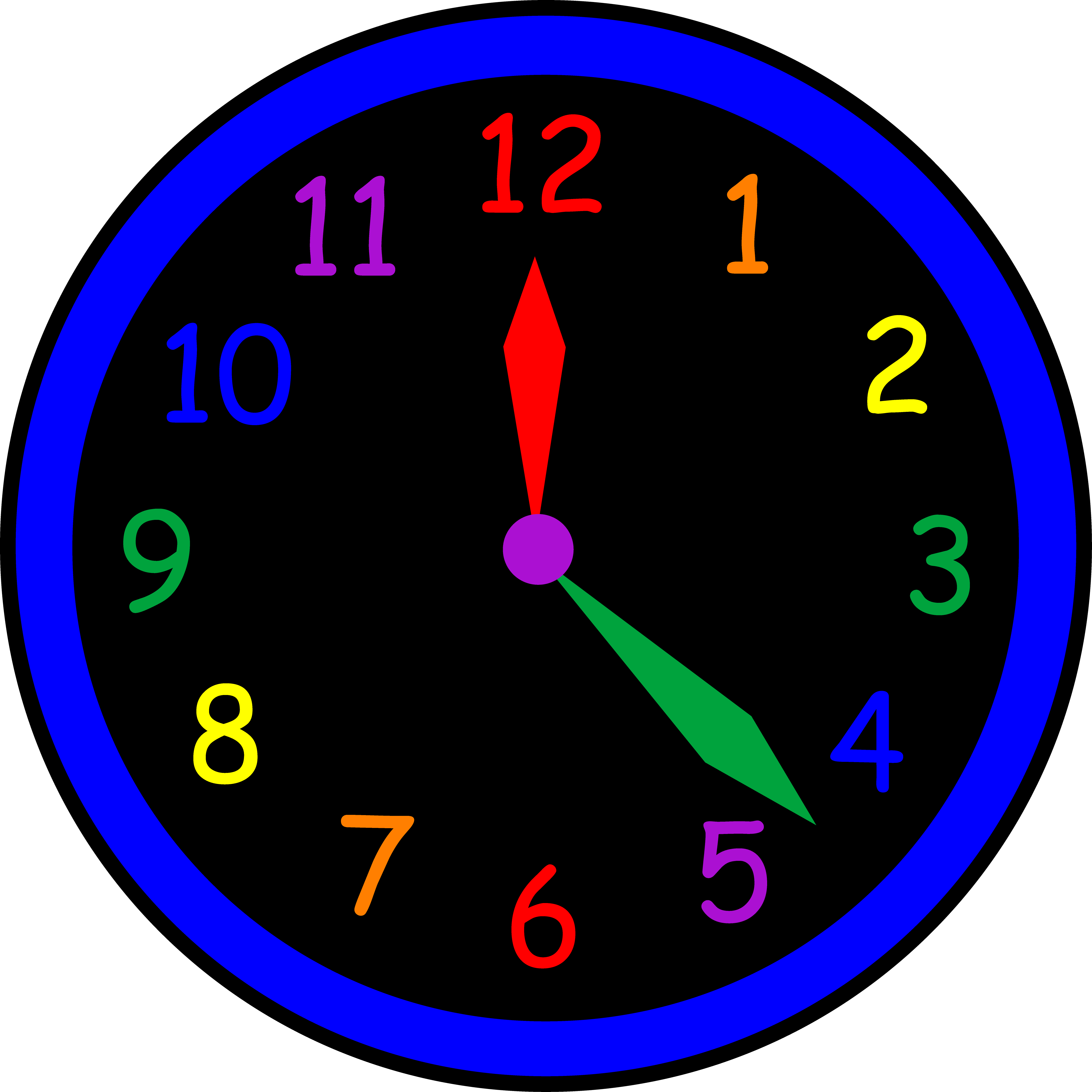 Clipart time clock