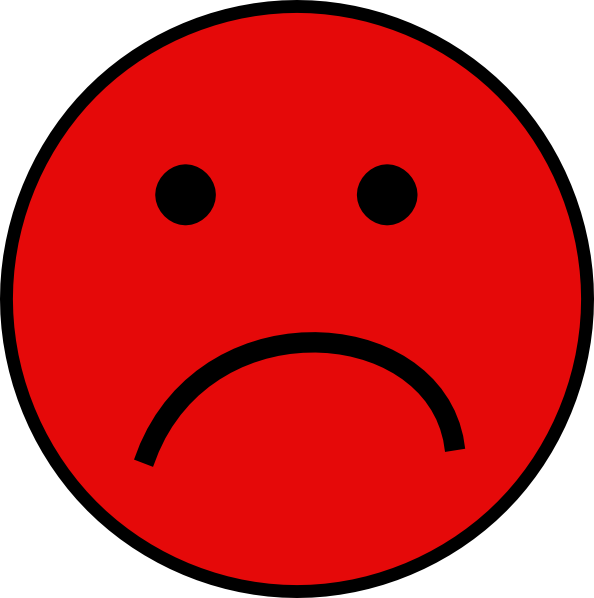 Unhappy Smiley-face Clipart