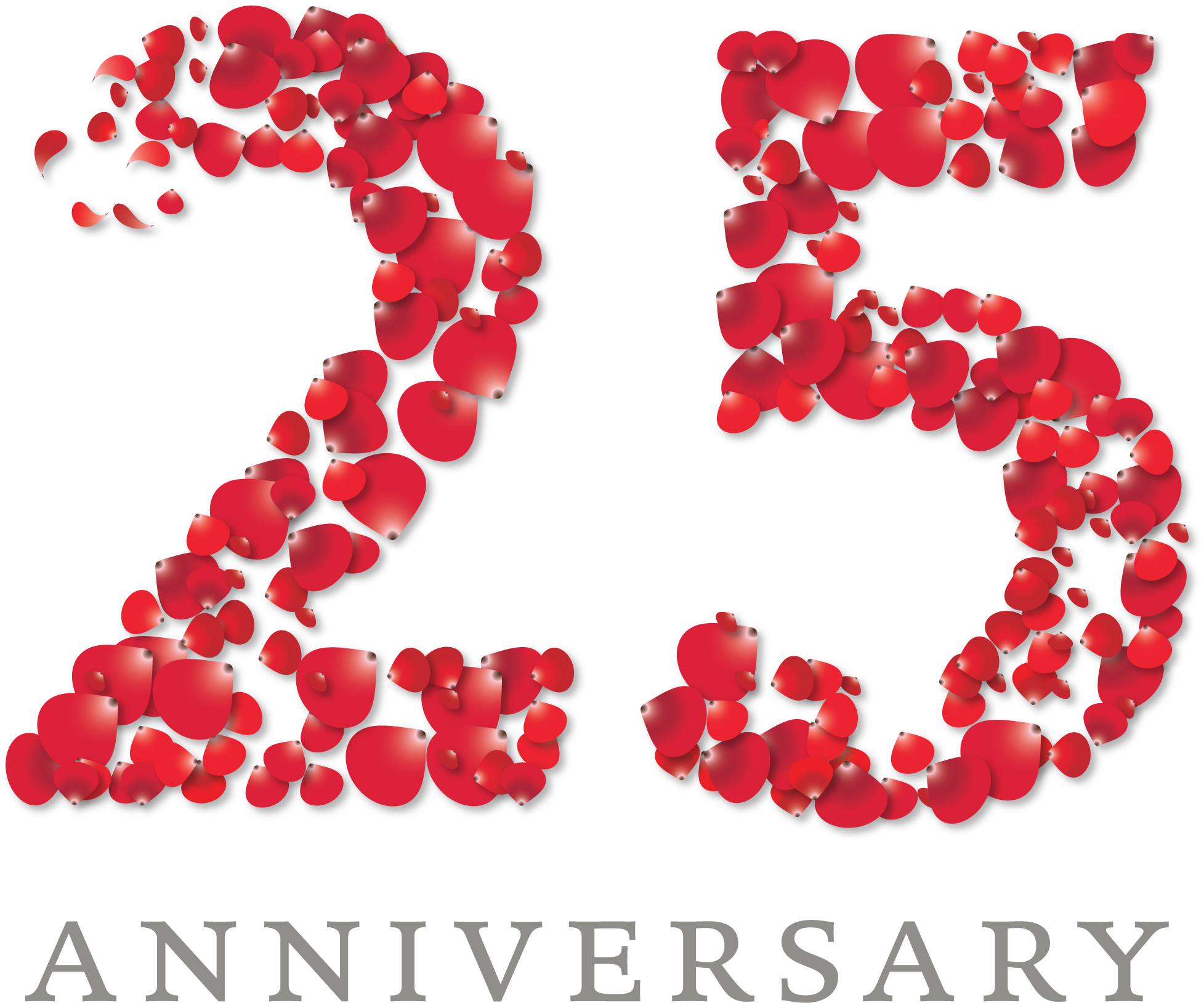 25th Wedding Anniversary Clip Art - ClipArt Best