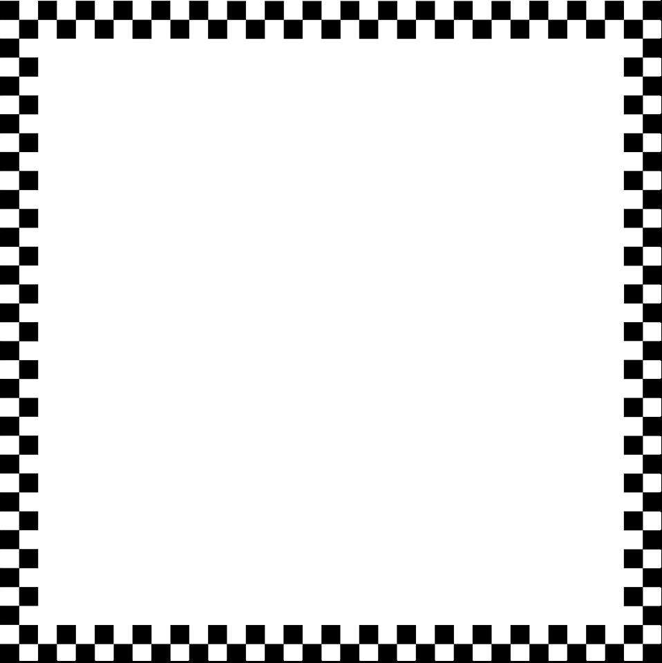 Racing Flag Border - ClipArt Best