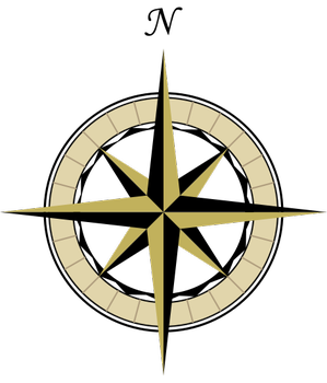 41 compass north south...