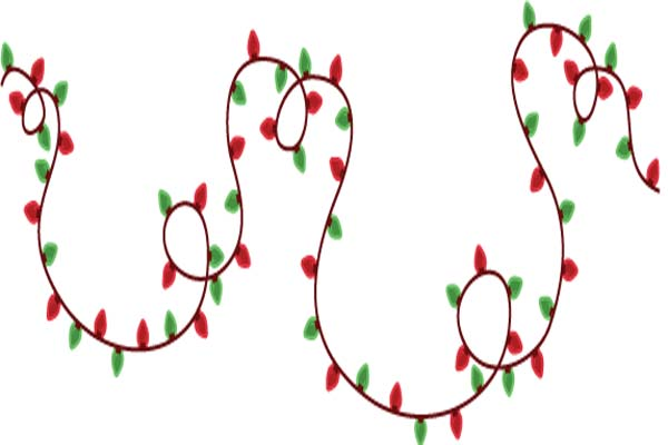 Christmas Light Clip Art
