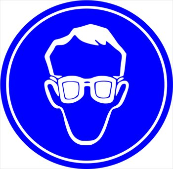 Free safety-glasses-required-sign Clipart - Free Clipart Graphics ...