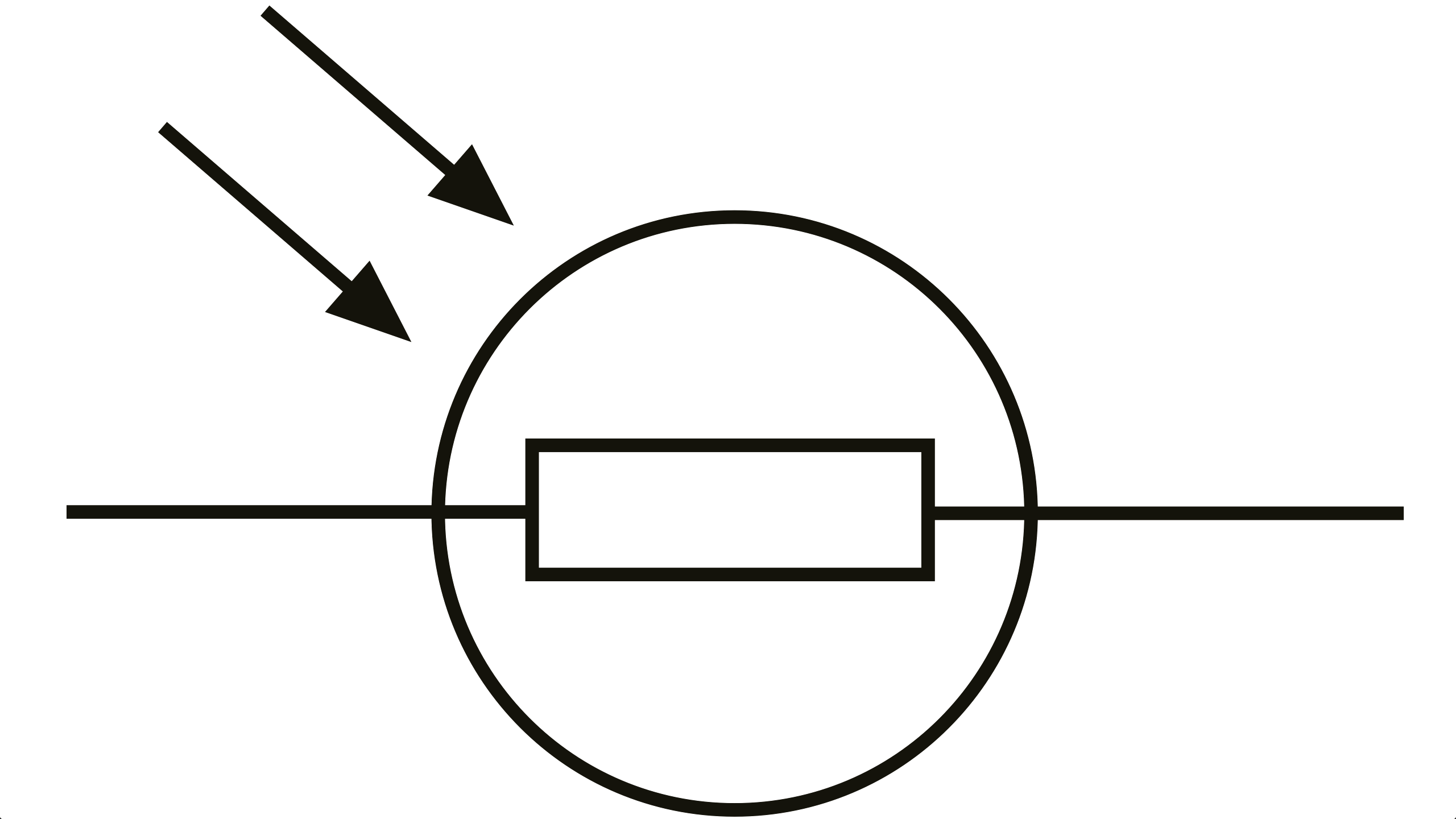resistor and led symbol clipart best