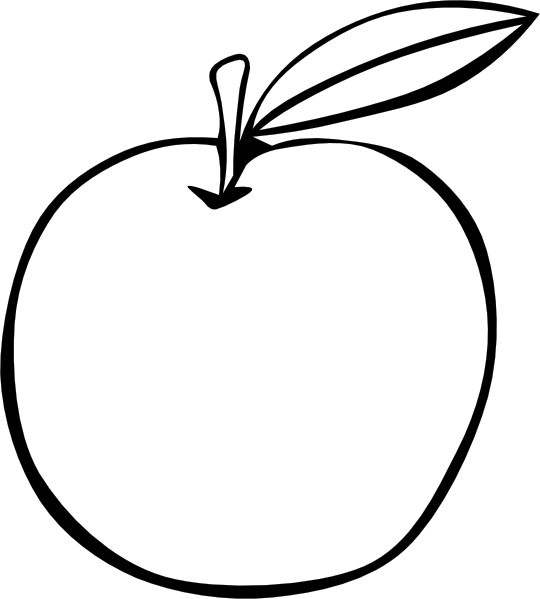 clipart apple pages - photo #32