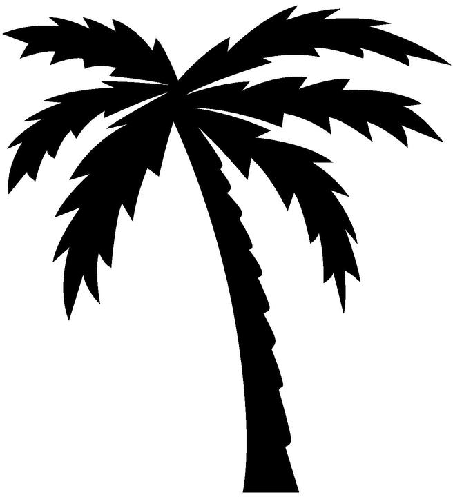 Palm Tree Logo - ClipArt Best