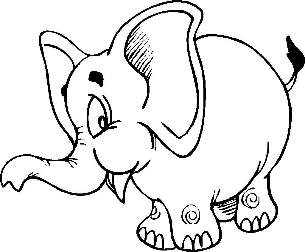 Gajah Drawing Clipart Best