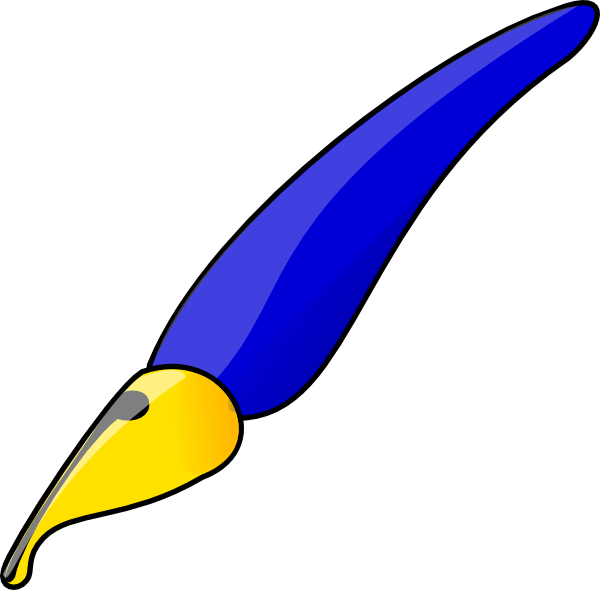 Feather Pen Clipart - ...