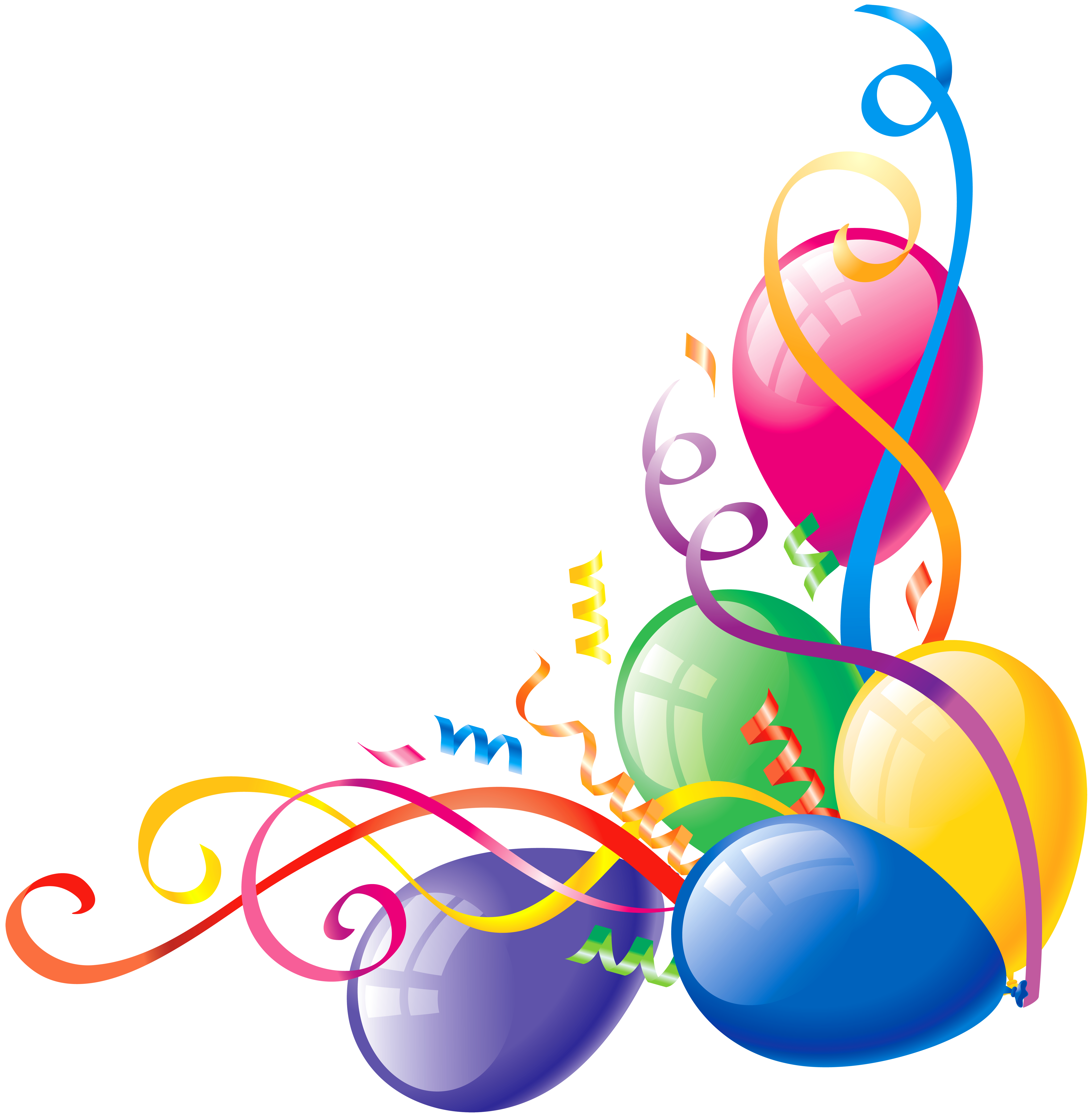free balloon clip art pictures - photo #48