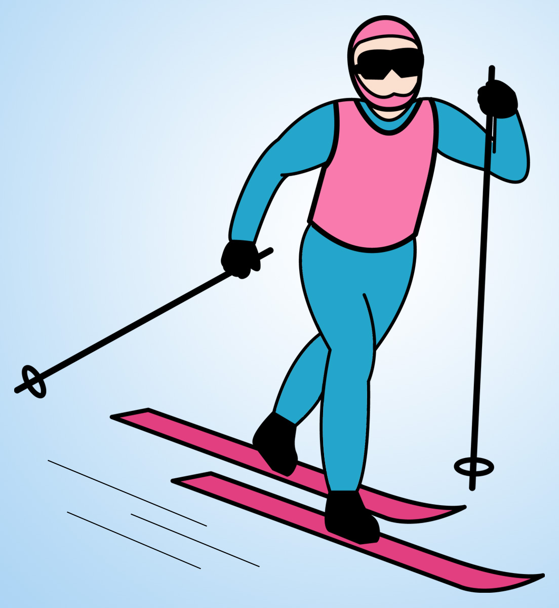 Skiing Clip Art - ClipArt Best