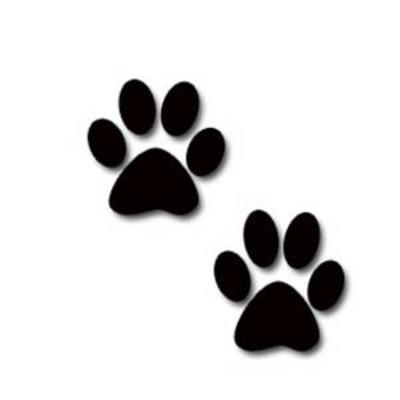 Clip Art Pawprint Clipart jaguar paw prints clipart best best