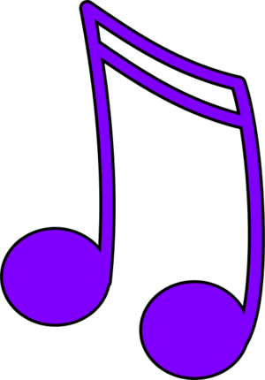 Music Note Purple - ClipArt Best