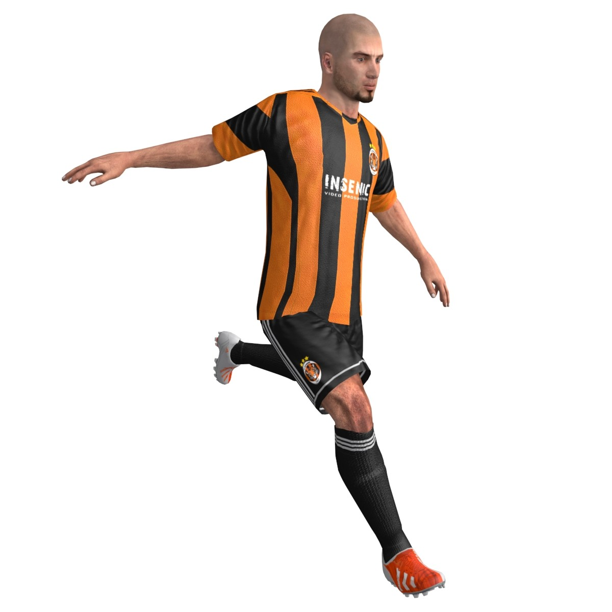 Soccer Player Animation - ClipArt Best